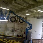 Lift for HVACs Duct Cleaning, Vancouver